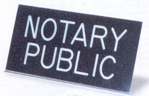 notary public black